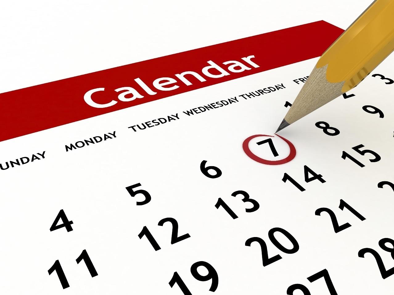 calendar logo sorrento slsc